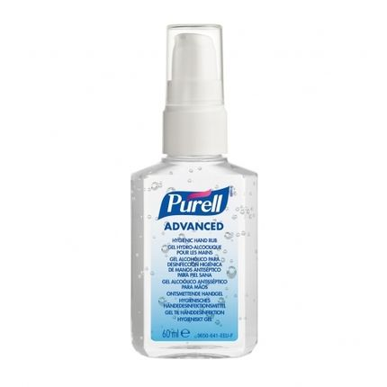 Gojo P9606 24 Purell Advanced Hand Sanitizer Gel 24x60ml Zakflacon