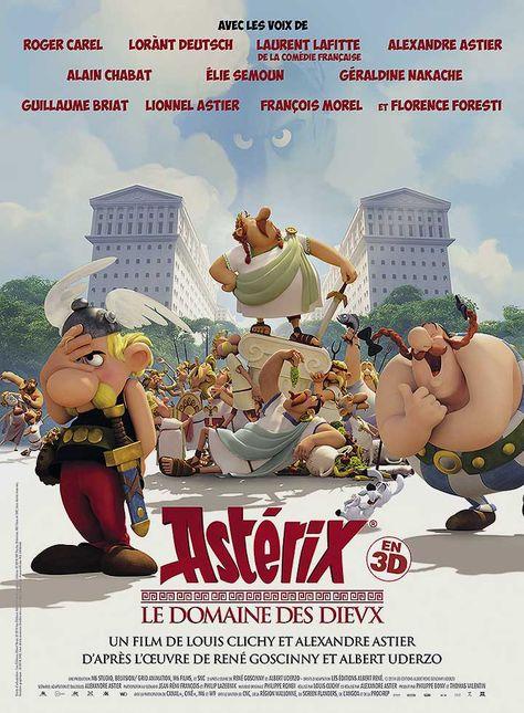 Astérix - Le Domaine des Dieux affiche France