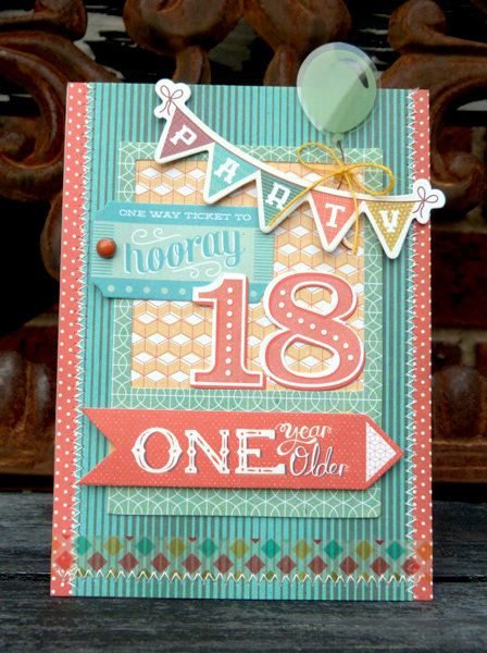 8 Best Coming Of Age Cards Images On Pinterest Birthdays