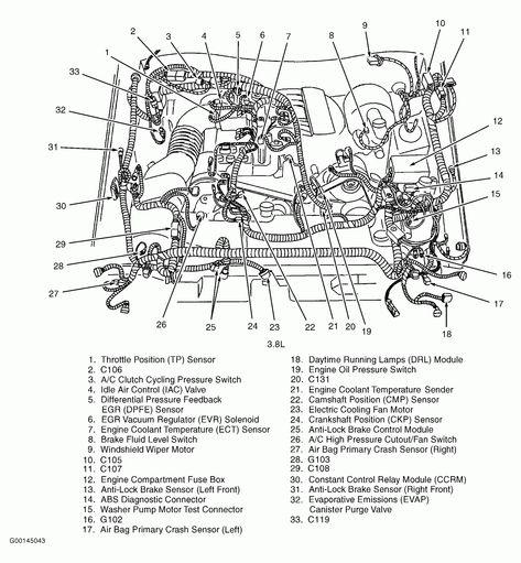 Engine Diagram 8 Ford Escape Sport