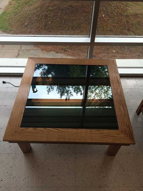 I made an Infinity Table in my Woods 1 Class - Imgur