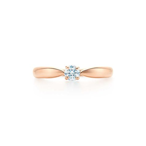 Tiffany Harmony Ring Affordable Rose Gold Engagement Rings Rose Gold Engagement Ring Vintage Vintage Engagement Rings Sapphire