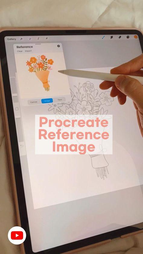 Procreate iPad Tutorial • Digital Art • Procreate Brushes • Textures