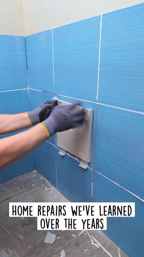 Home repairs we've learned over the years