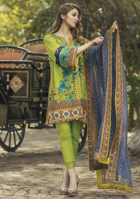 Looking for Alkaram Lawn Spring Summer Exclusive Collection 2017 Vol Alkaram Lawn is back with its notable and glorious lawn collection