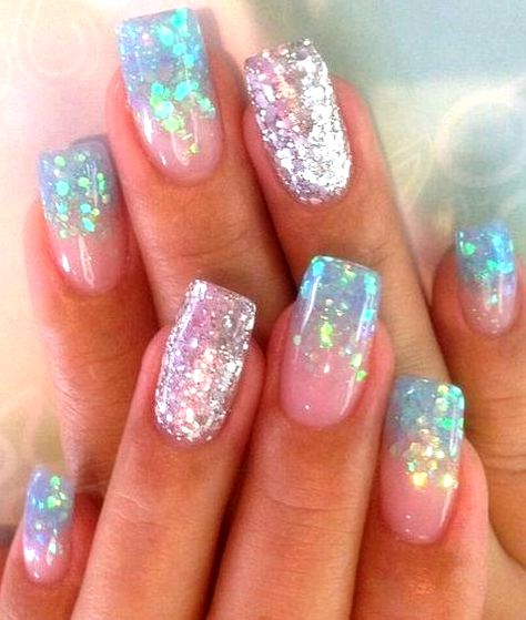 32 Popular Mermaid Nail Designs For You To Try - -