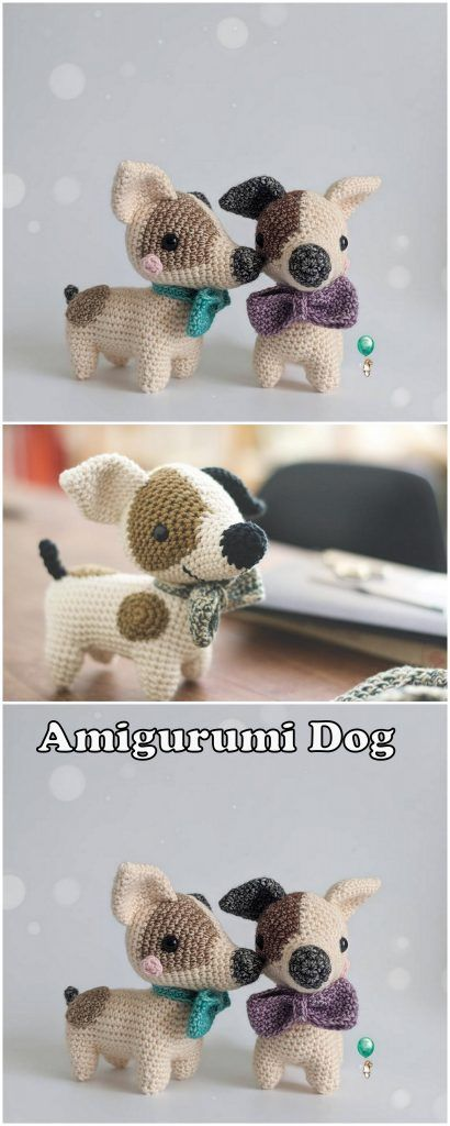 25 Free Amigurumi Dog Crochet Patterns to Download Now! | 1024x410