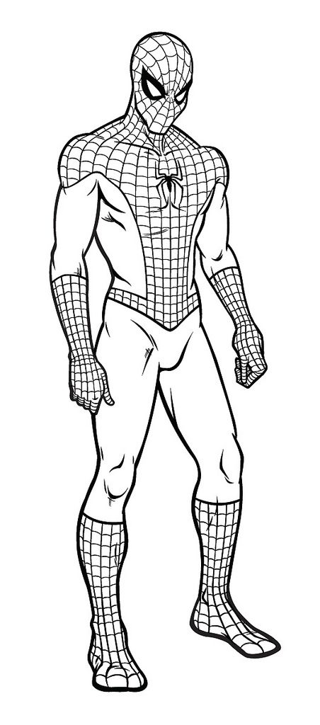 Related Image Spiderman Coloring Coloring Pages Spiderman