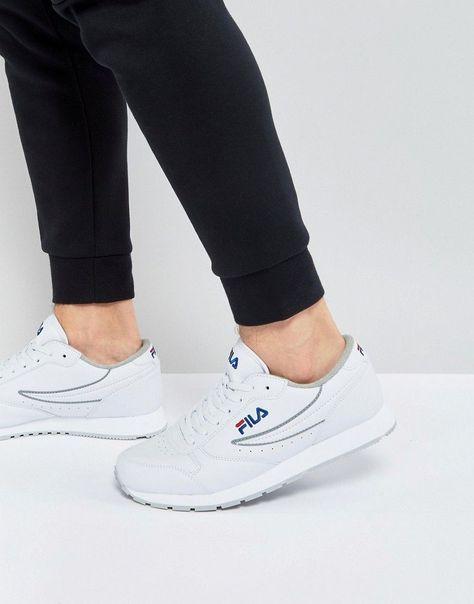 FILA VINTAGE ORBIT LOW SNEAKERS - WHITE. #fila #shoes ...