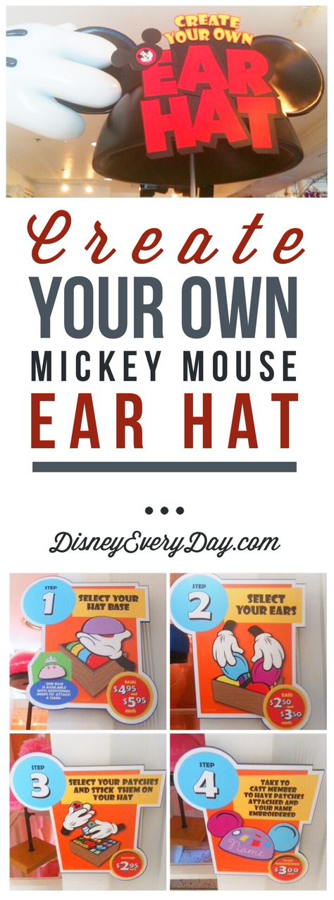 Create Your Own Mickey Mouse Ears