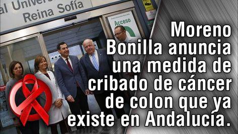 Moreno Bonilla anuncia una medida de cribado de cáncer de colon que ya e...