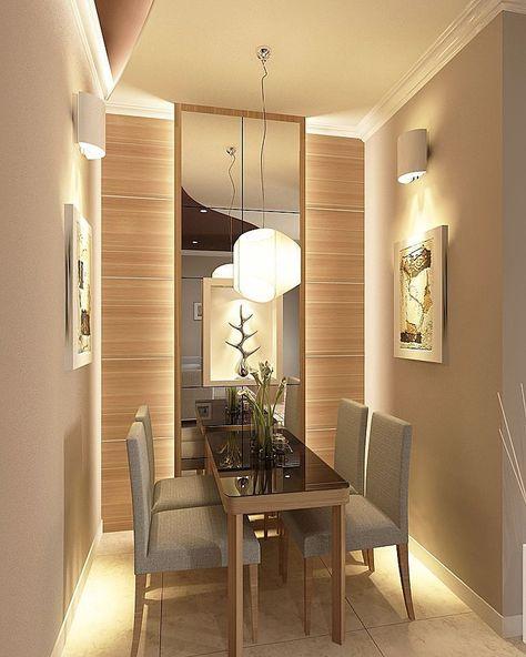 Makeover Kamar Tidur Sederhana  model ruang makan minimalis sempit desain ruang makan