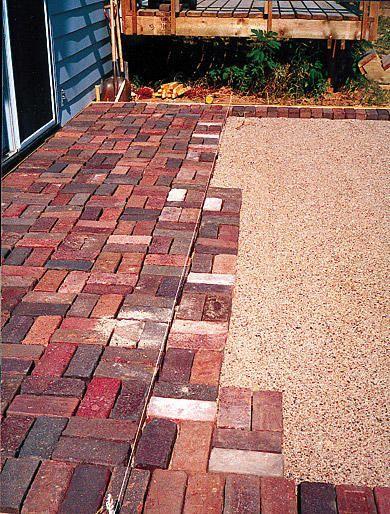 Create A Brick Patio Patio Installation Patio Flooring Paver Patio