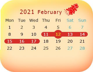 Ou Spring 2022 Calendar.Chinese New Year 2021 Spring Festival Dates And Celebrations Chinese New Year Calendar Chinese New Year Chinese New Year Dates