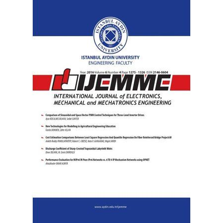 2016 Volume 6: Ijemme: International Journal of Electronics, Mechanical and Mechatronics Engineering (Paperback)