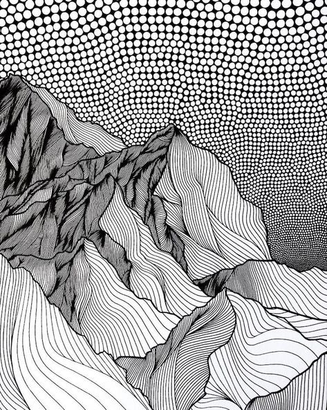 Artist Draws Countless Lines and Dots to Capture the Majestic Beauty of Mountains - pattern - #artist #BEAUTY #Capture #Countless #Dots #Draws #lines #Majestic #Mountains #pattern #patternaesthetic #patternart #patternartdrawing #patternartdrawingdoodles #patternartdrawingsimple #patternartforkids #patternbackground #patternbacksplash #patternblocks #patternblocksc #patternblousedesigns #patterndrafting #patterndraftingdresshristmas #patternfashion #patternfashiondesign #patternfashiondesignclo