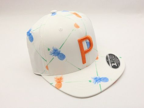 NEW Puma Paradise P Snapback Cap Pineapple Rickie Fowler Limited Edition  White (eBay Link) 6cef3ca2b1a
