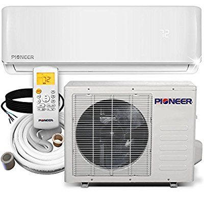 Amazon Com Pioneer Wys012 17 Air Conditioner Inverter Ductless Wall Mount Mini Split Syste Heat Pump System Air Conditioner Inverter Smallest Air Conditioner