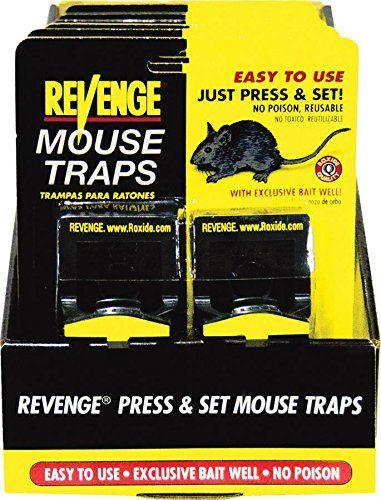 Bonide Products Roxide 47080 62225 Revenge Set Mouse Trap