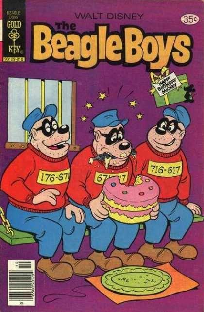Beagle Boys 45 Comic Books Vintage Comic Books Comics