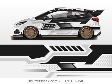 Car Wrap Decal Design Vector Graphic Abstract Background Kit Designs For Vehicle Race Car Rally Livery Sport E Fahrzeugbeklebung Autodesign Fahrzeugdesign