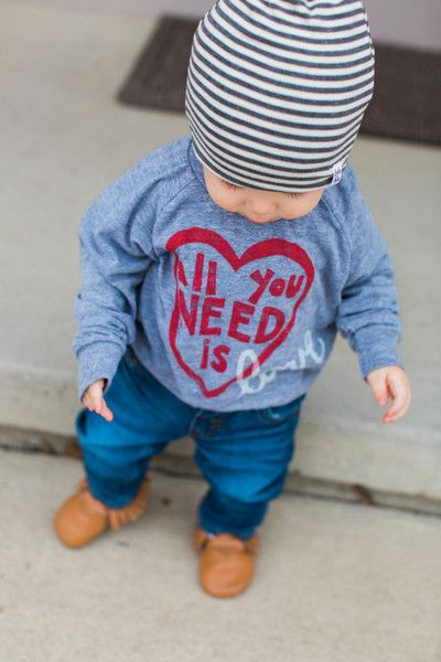 Stick with a conversation tee - Kids' Valentine's Day Clothes That'll Make You Swoon - Photos