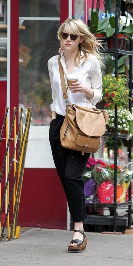 Emma stone style casual dress