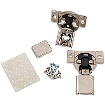 Blum 20 Pack 1 2 Overlay Soft Close Hinge 38n355b 08 105 Blumotion With Screws Cover Caps Face Frame Cabinets Hinges For Cabinets Kitchen Cabinets Hinges