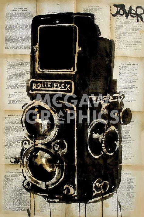 Rolleiplex Camera
