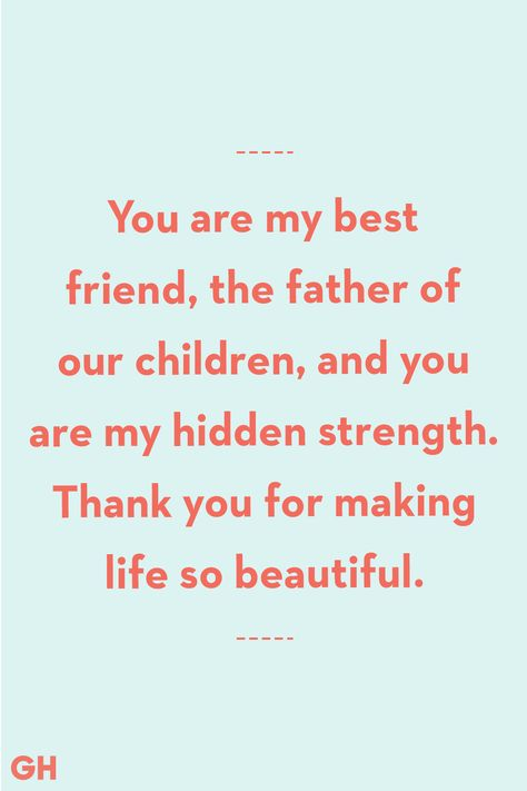 Father's Day Quotes From Wife Hidden Strength