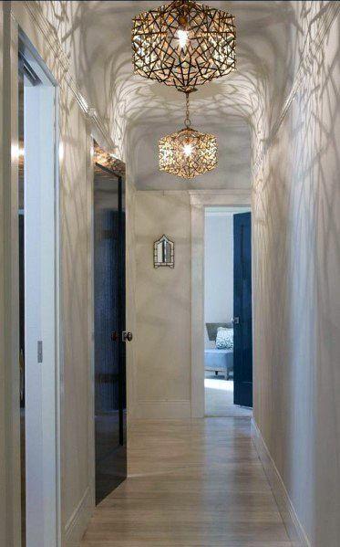Top 60 Best Hallway Lighting Ideas Interior Light Fixtures Ceiling Design House Design Interior Lighting