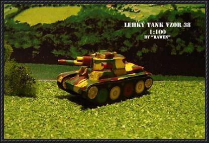Wwii Panzer 38 T Paper Tank Model Free Download Paper Tanks Paper Models Paper Crafts