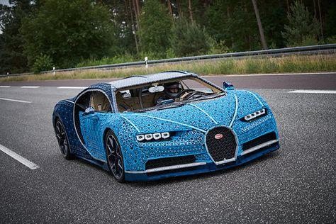 Lego Hizo Realidad Un Bugatti Chiron Tamano Real Funcional Hecho De