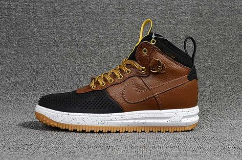 size 40 68d40 e83eb Nike Air Force 1 KPU Nike Lunar Force 1 Men Brown Black 40-47