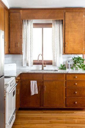 How To Remove Decorative Cabinet Scrollwork Birch Kitchen
