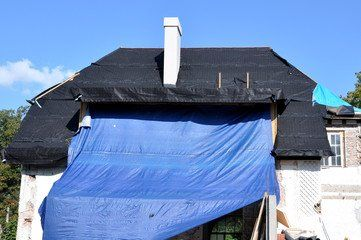 There Can Be A Situation Where Your Roof Suffers A Serious Damage Due To Some Natural Disaster Roof Repair Vinyl Siding Installation Siding Options