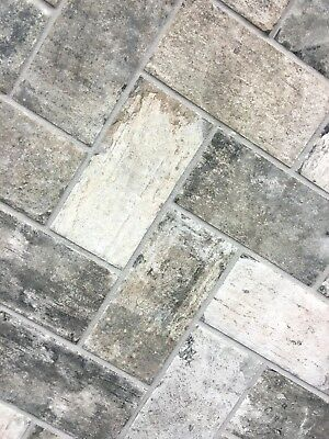 Details About Gray Brick Look 4x8 Porcelain Tile Wall Floor