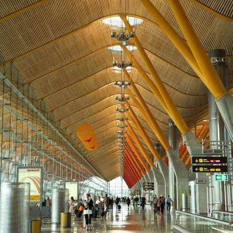 Richard Rogers 2007 Laureate, Terminal 4, Madrid Barajas