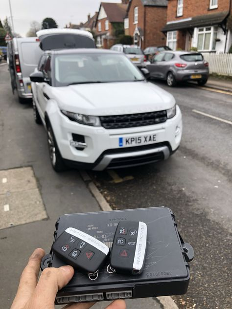 Range Rover Evoque 2015 Customer Dropped His Only Key Into