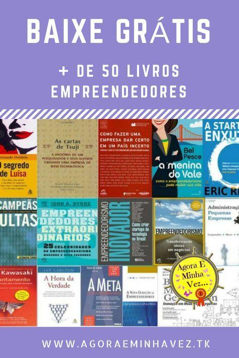 50 Melhores Livros De Empreendedorismo 2018 Downloads Gratis