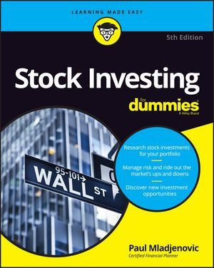 Stock Investing For Dummies 2016 5th Edition Pdf Download E Book
