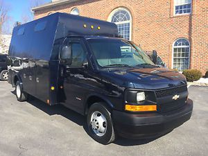 2008 Chevrolet Express 3500 6 6l Duramax Diesel Enclosed Utility