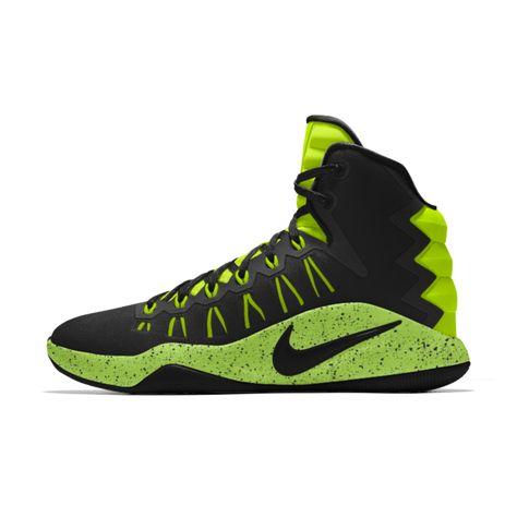Hyperdunk 2016 TB Womens Nike Zoom Mid Top Basketball Shoes