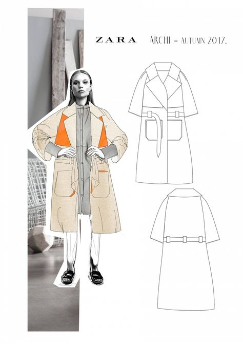 ideas for fashion portfolio illustration