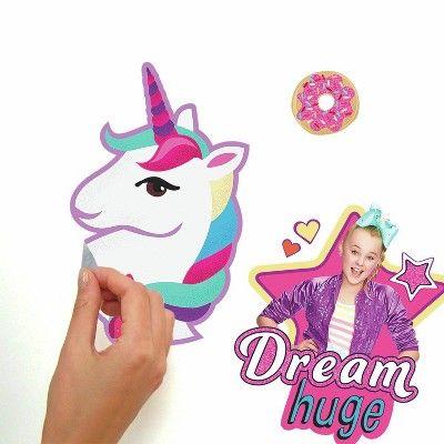 "Nickelodeon JoJo Siwa Girl Power Unicorn 7"" Party Plates 8 ct NEW"