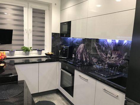 Lando Glass Black Wojciech Glass Kitchen Home Decor