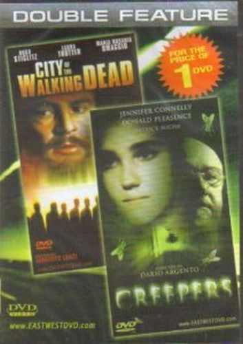 DVD-Double Feature-City of the Walking Dead-Creepers-2 Movies for the Price of 1