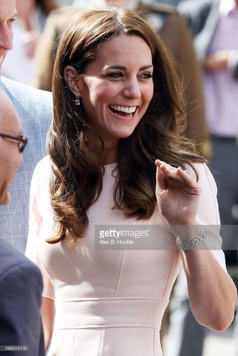 News Photo : Catherine, Duchess of Cambridge leaves Truro...