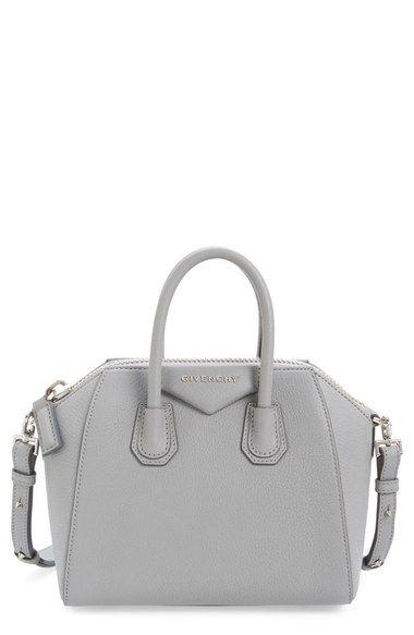 Givenchy Mini Antigona Sugar Leather Satchel Nordstrom Leather Satchel Givenchy Bag Leather Tote