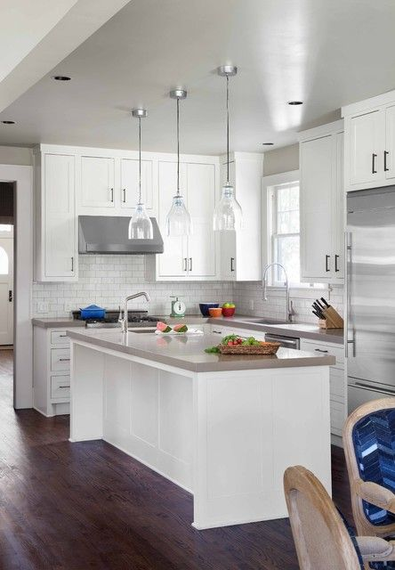 19 Elegant L-Shaped Kitchen Design Ideas | Kitchen design, Elegant and  Kitchens